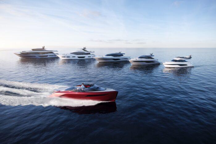 Princess Yachts Line-up