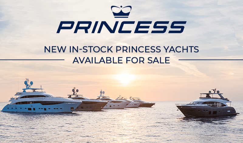 New In-Stock Princess Yachts