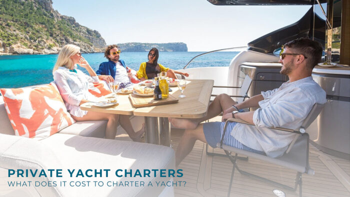 Private yacht charter pricing