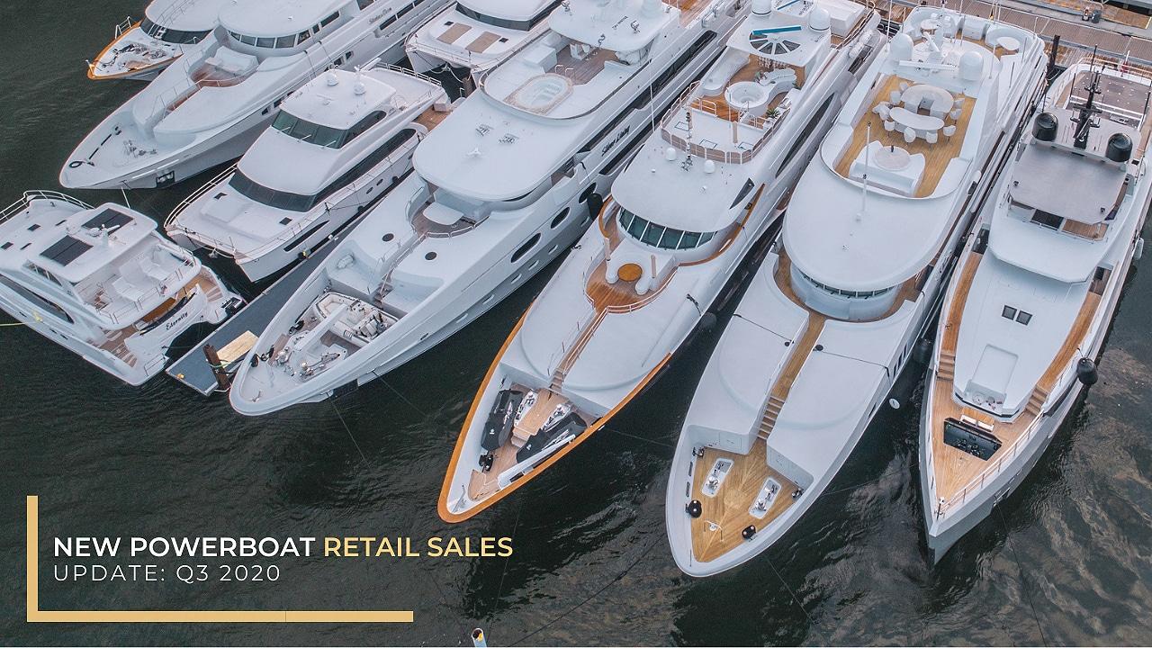 New powerboat retail sales update