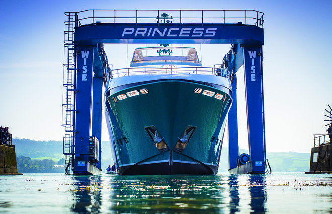 Princess Yachts Shipyards | history of princess yachts