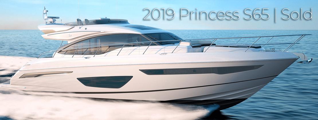 Princess s65 sold