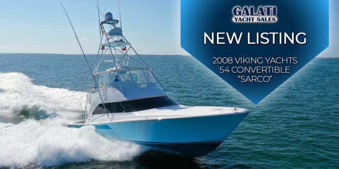 Sarco 54 Viking Yachts Convertible