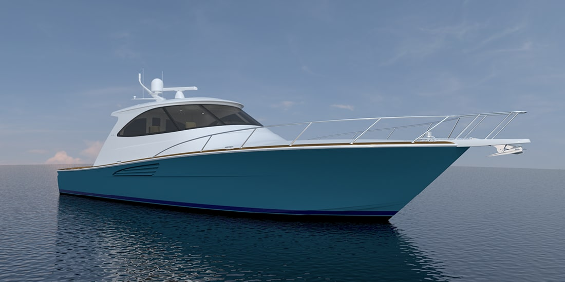 New Viking 54 Sport Coupe Yacht