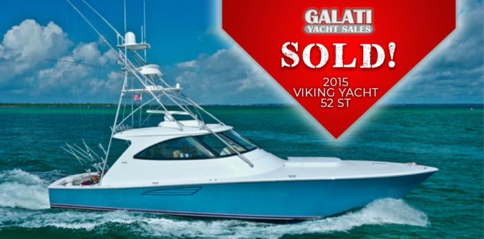 "Sold 52 Viking Yachts Sport Tower ""Snafu"""