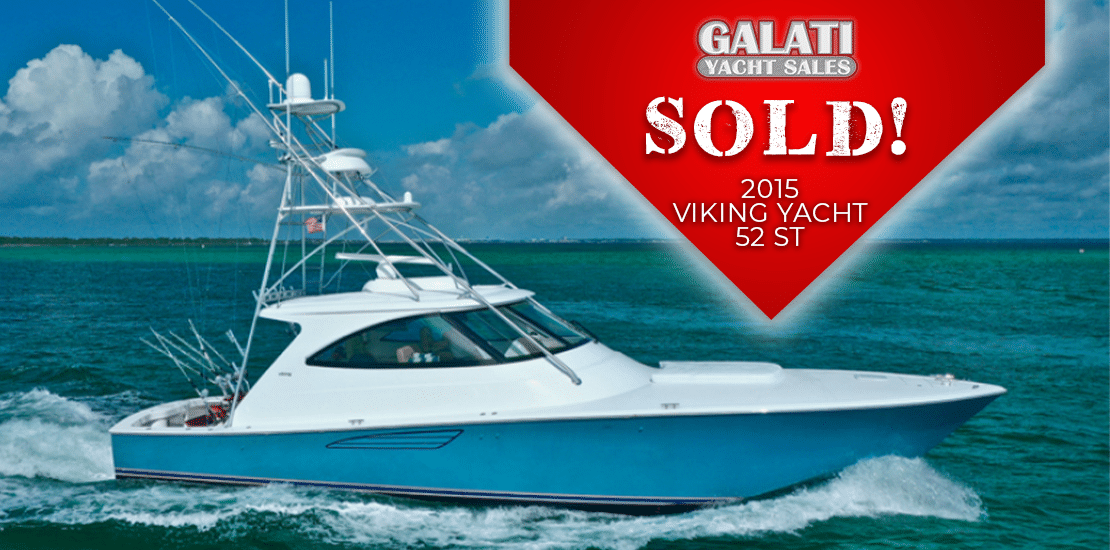 "Sold 52 Viking Yachts Sport Tower ""Snafu"""