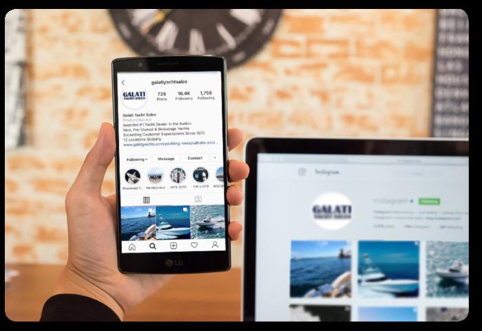 social media Galati Yacht Sales