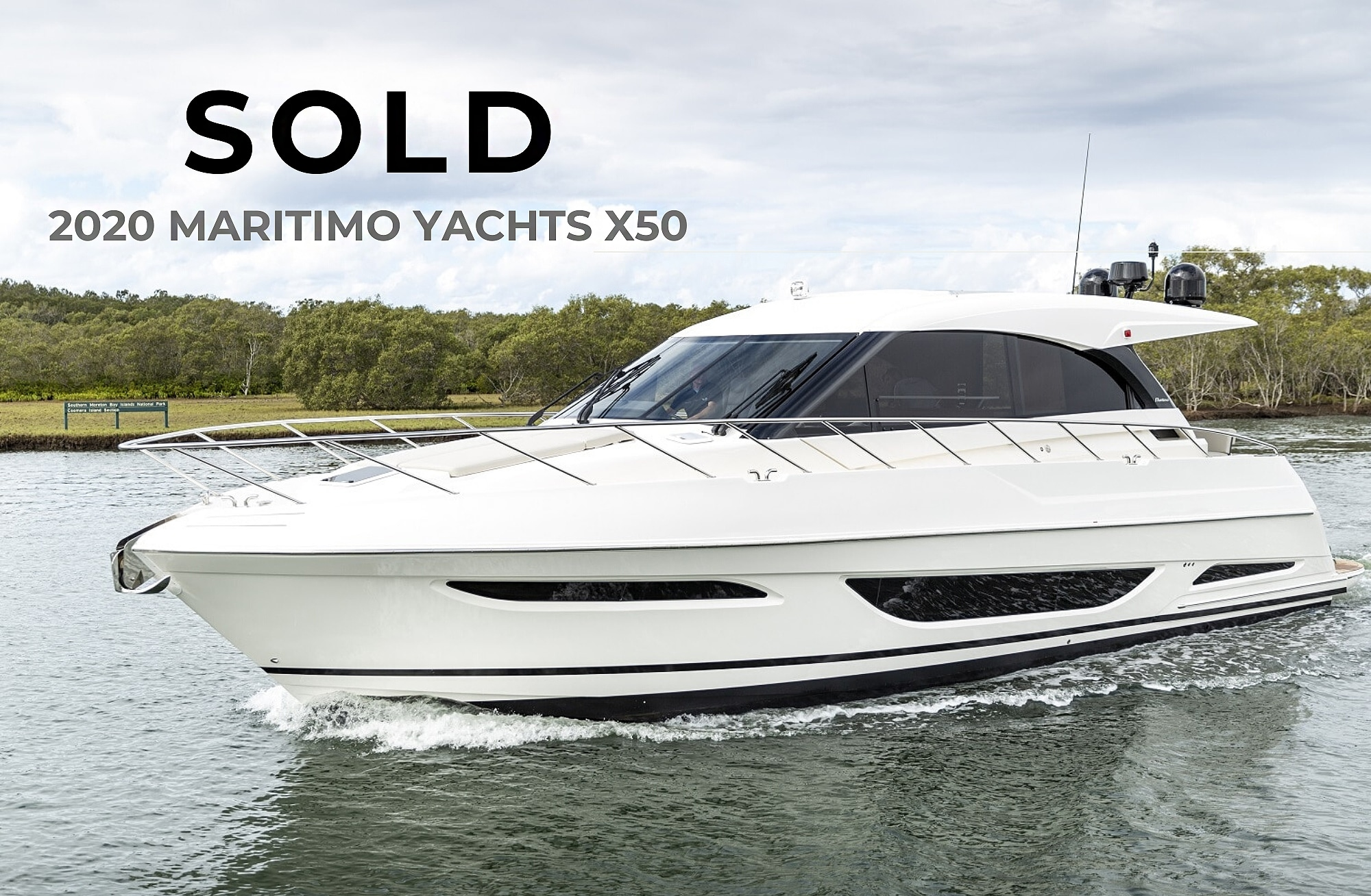 2020 X50 Maritimo Yacht | Sold Report