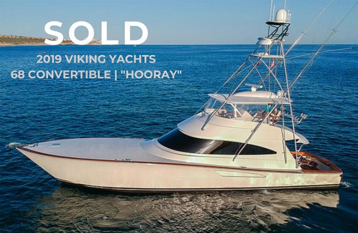 Sold 2019 68 Viking Yacht Convertible Hooray