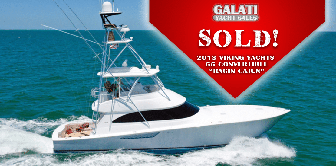 Sold Ragin Cajun 55 Viking Yachts Convertible