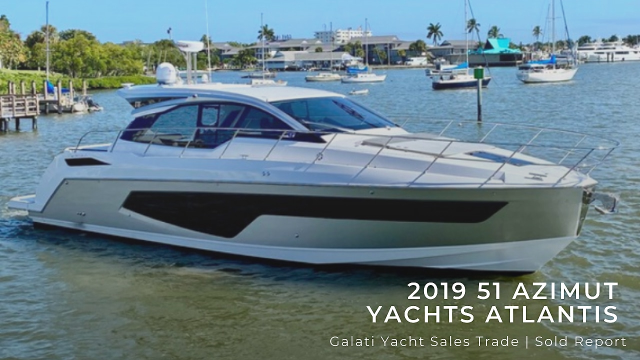 sold report 51 Azimut trade