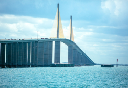 Sunshine Skyway gulf coast cruising