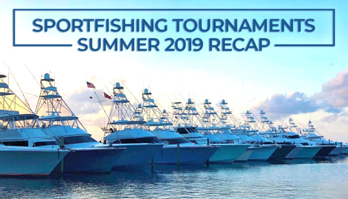 sportfishing tournaments summer 2019