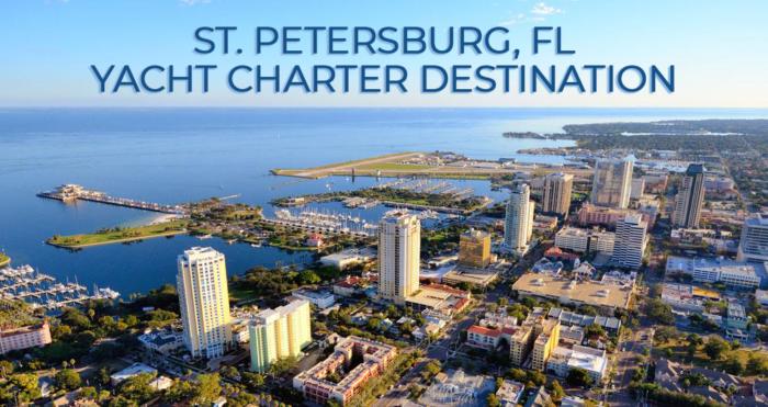 St.Petersburg Yacht Charter Destination