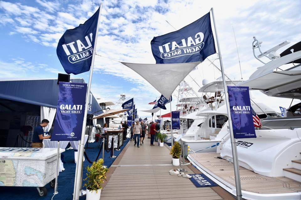 2019 St. Petersburg Boat Show | Power & Sailboat