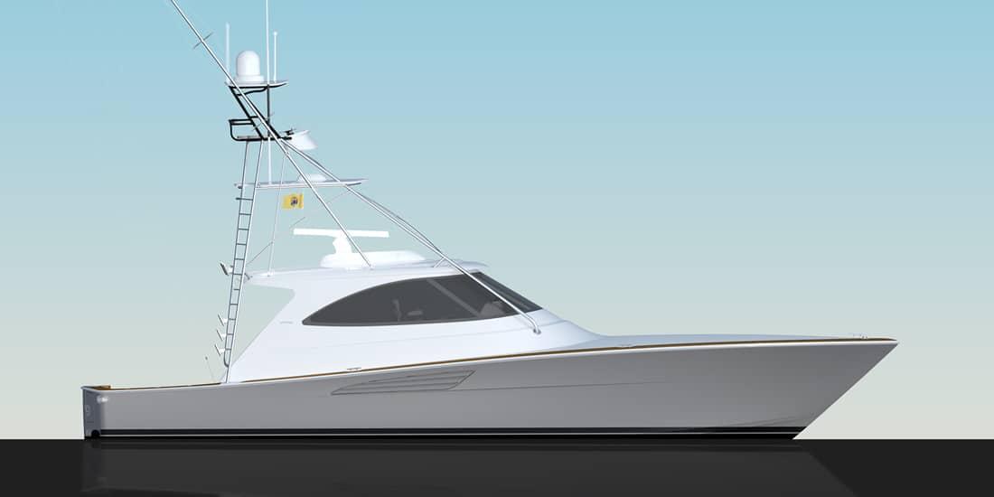 New Viking 54 Sport Tower Yacht