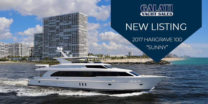 New Listing: 100' Hargrave SUNNY