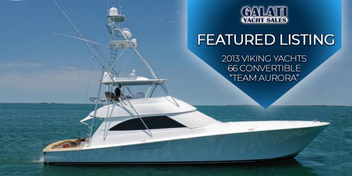 2013 66 Viking Yachts Convertible Team Aurora