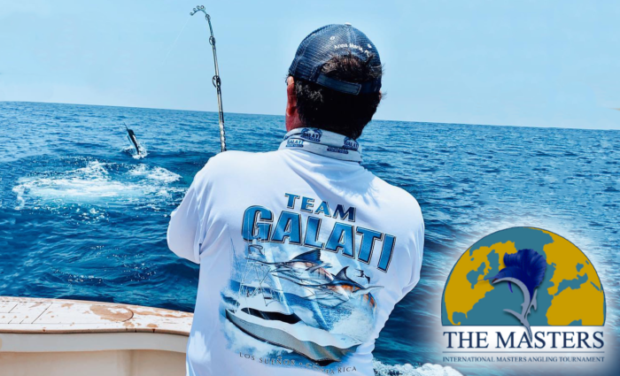 Team Galati fishing in the Master's Angling Tournament