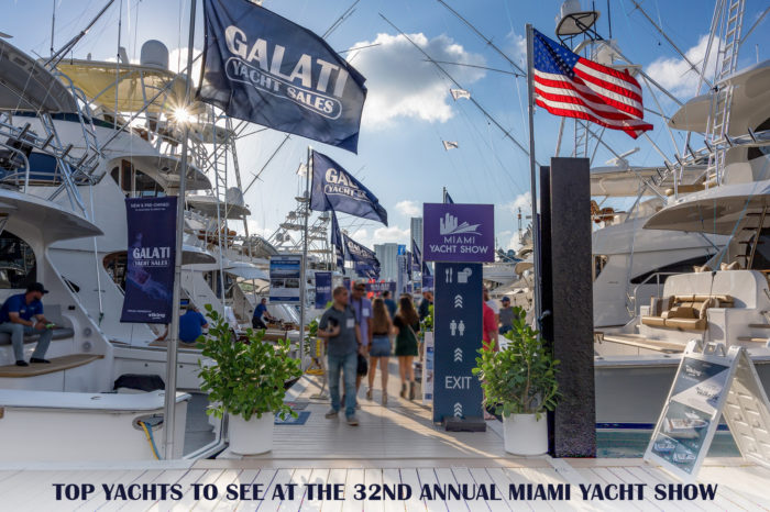 top yachts to see at the 32nd annual Miami Yacht show