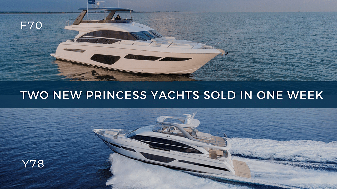 two princess yachts sold