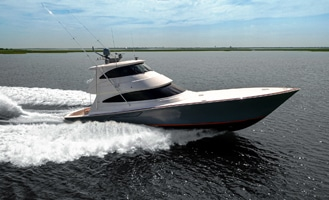 New Viking 68 Enclosed Bridge Yacht