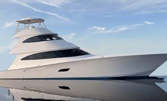 New Viking 80 Skybridge Yacht