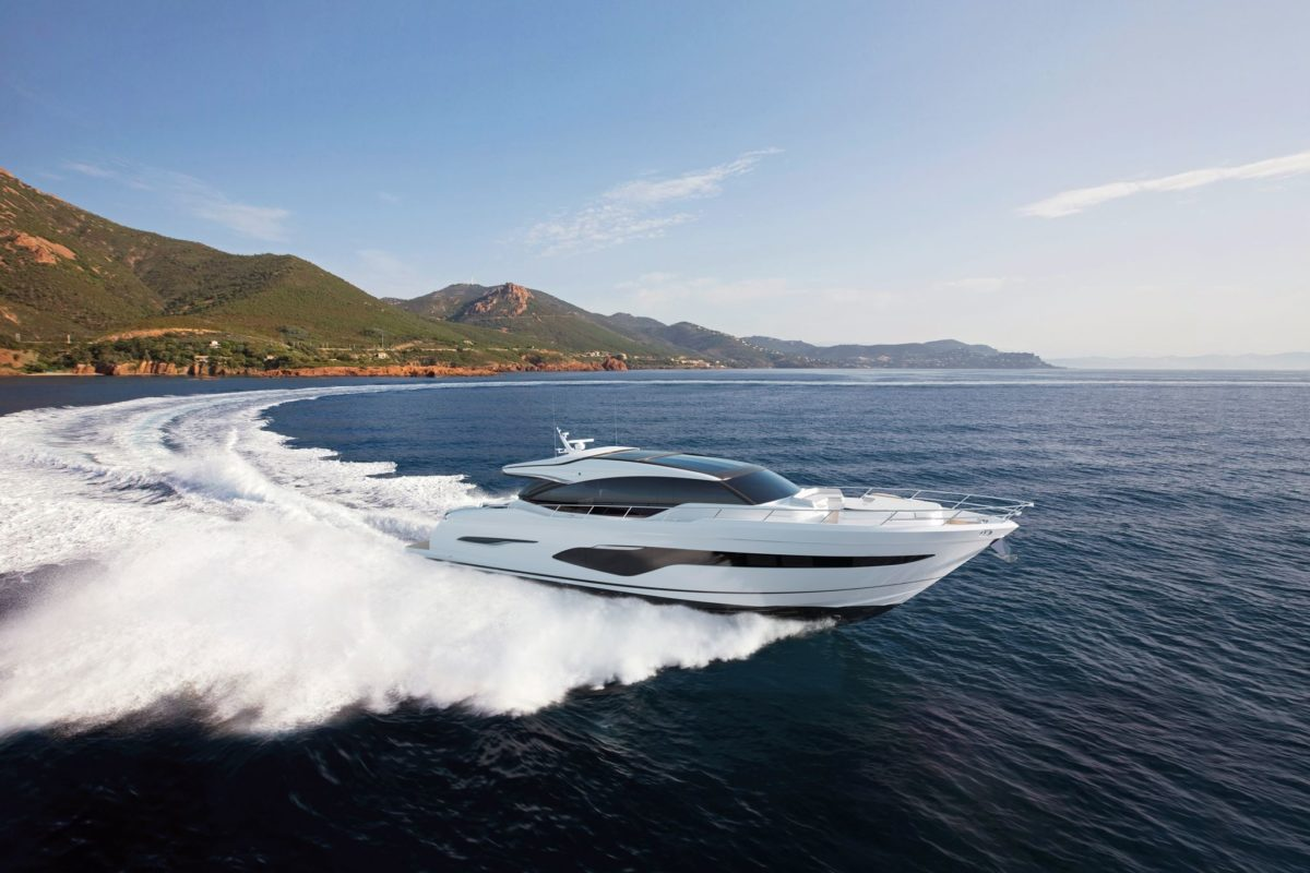 New Princess V78 Yacht