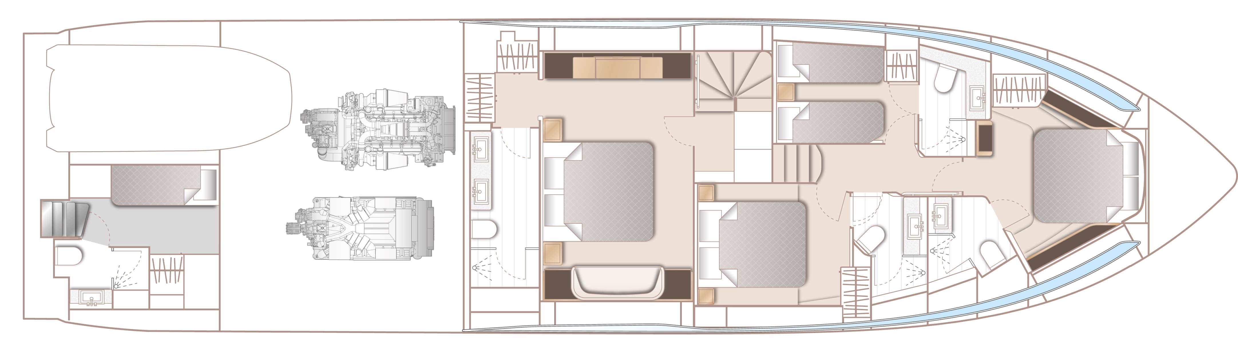 v78 layout lower deck