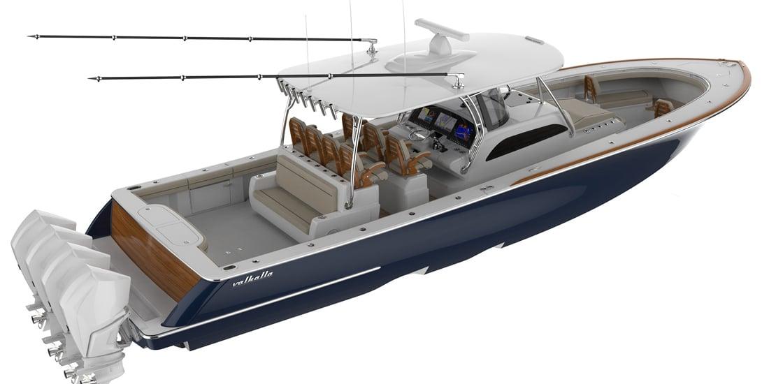 New Valhalla V-46 Yacht