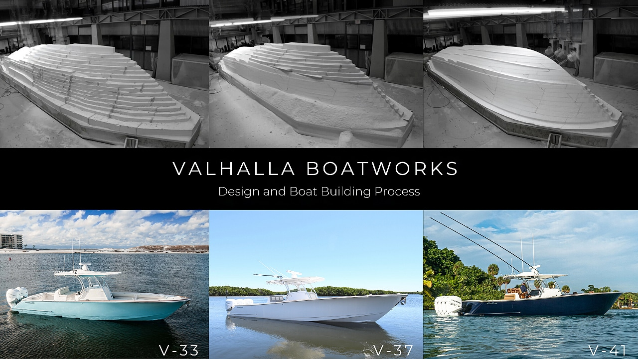 valhalla boatworks design & boat building process