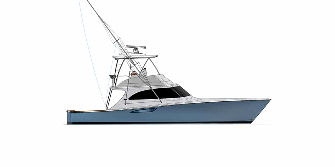 New Viking 46 Billfish Yacht