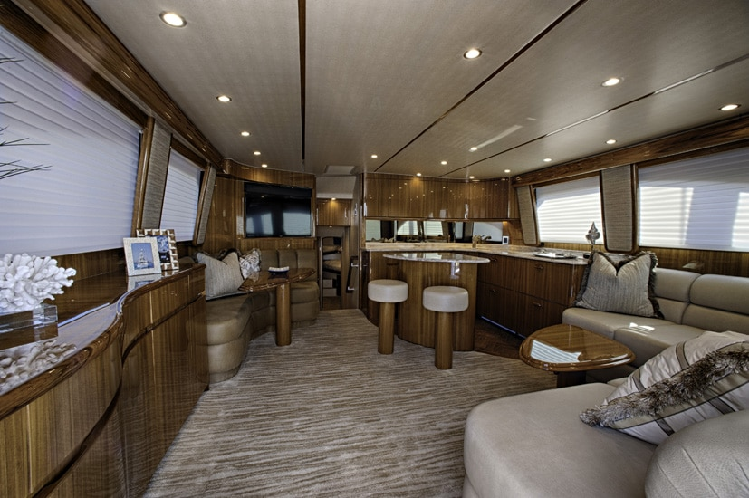 viking 52 cnv interior