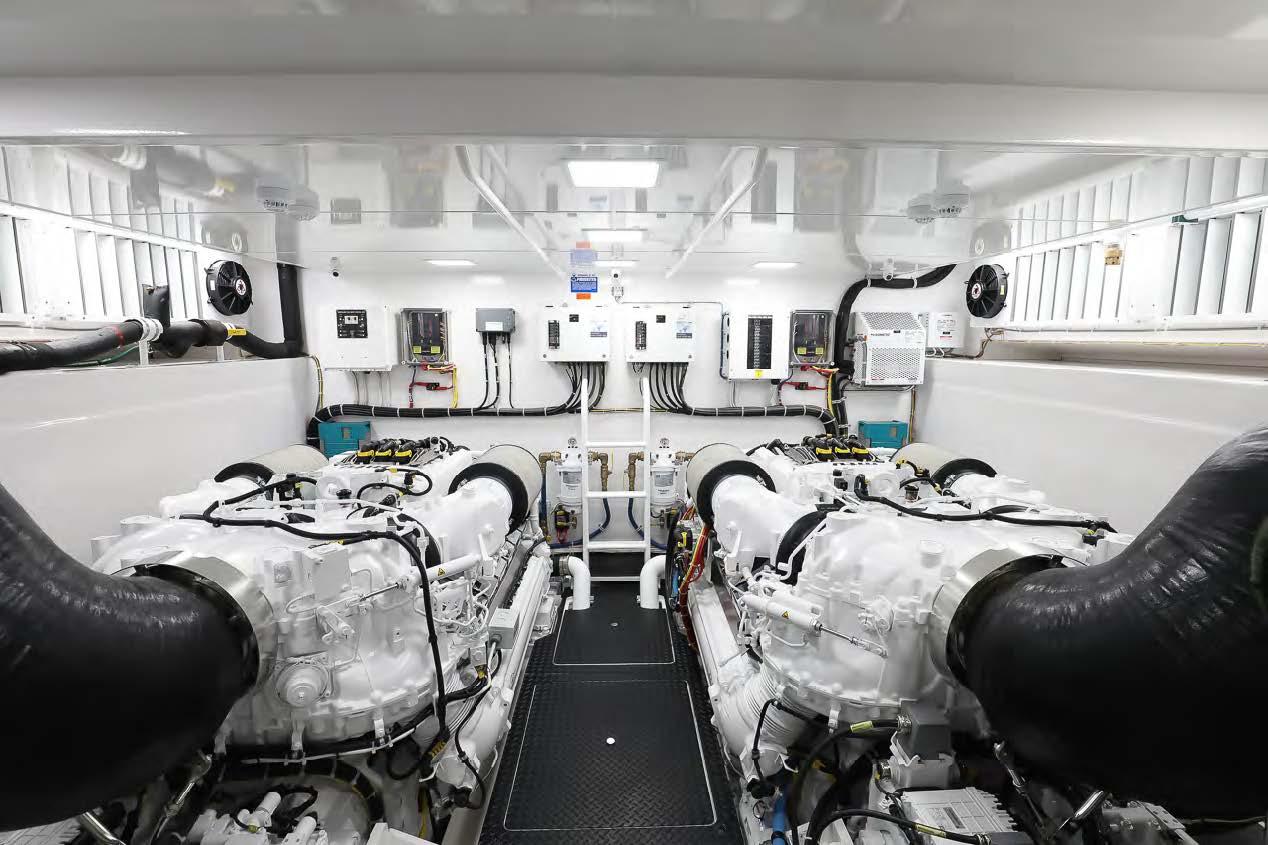 viking 75 my yacht engine room