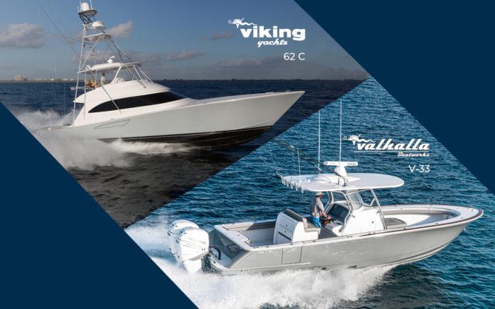 Viking Yachts 62 C & Valhalla Boatworks V-33