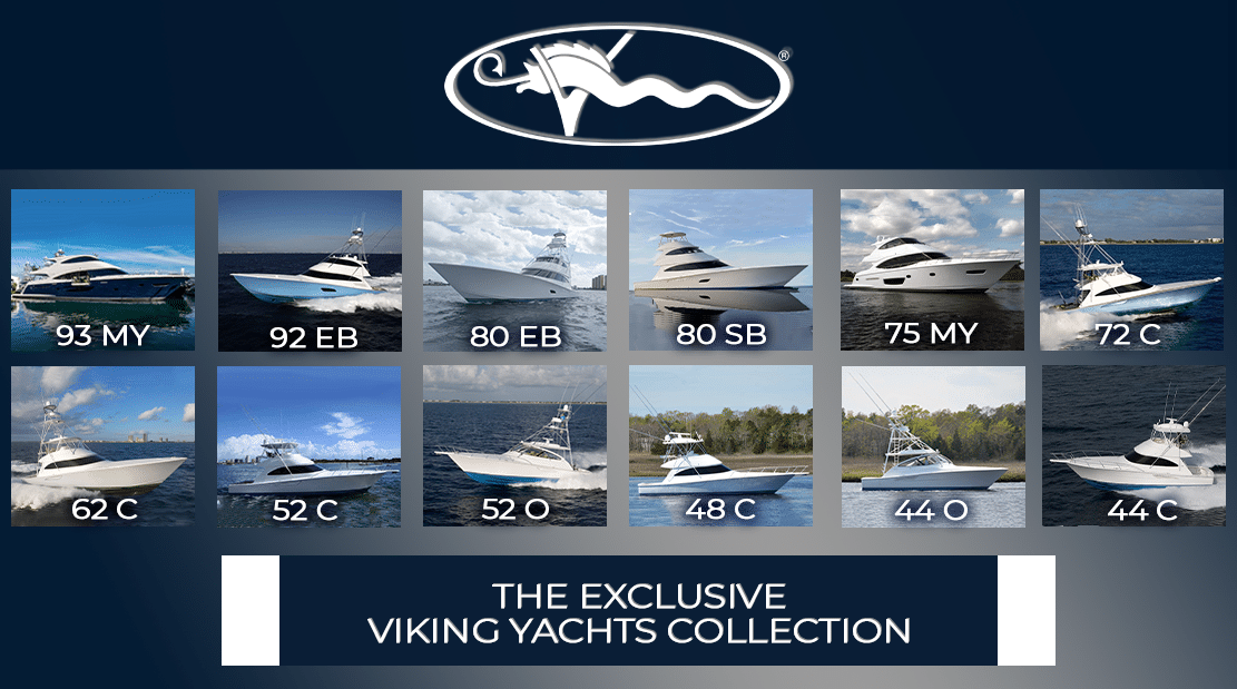 The Exclusive Viking Yachts Collection
