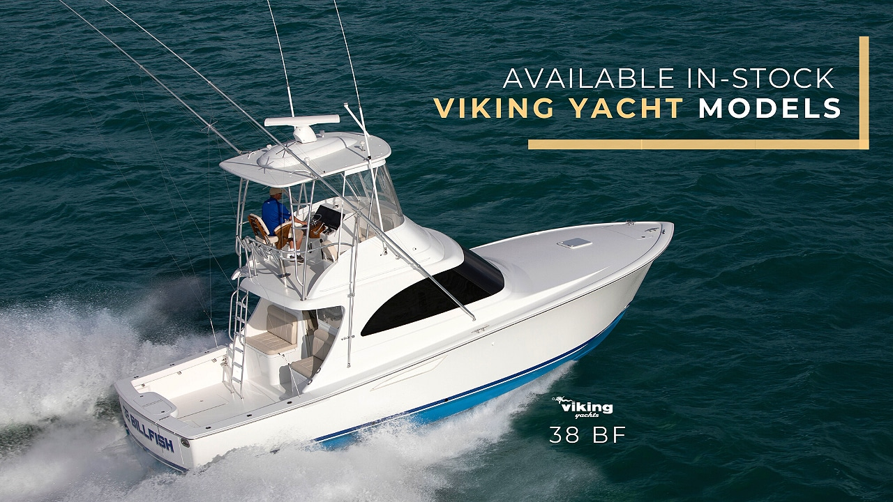 available Viking Yacht in-stock models