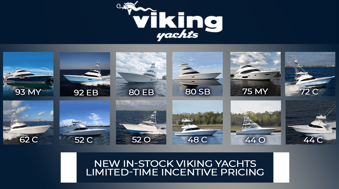 New In-Stock Viking Yachts