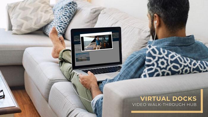 virtual docks - yacht video walk-through hub