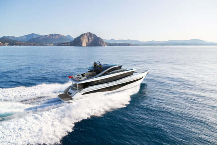 all-new Princess Yachts X80
