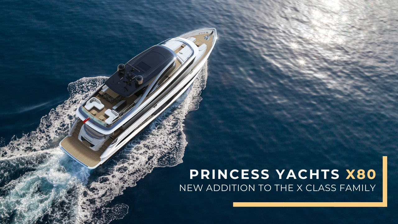 Princess Yachts X80