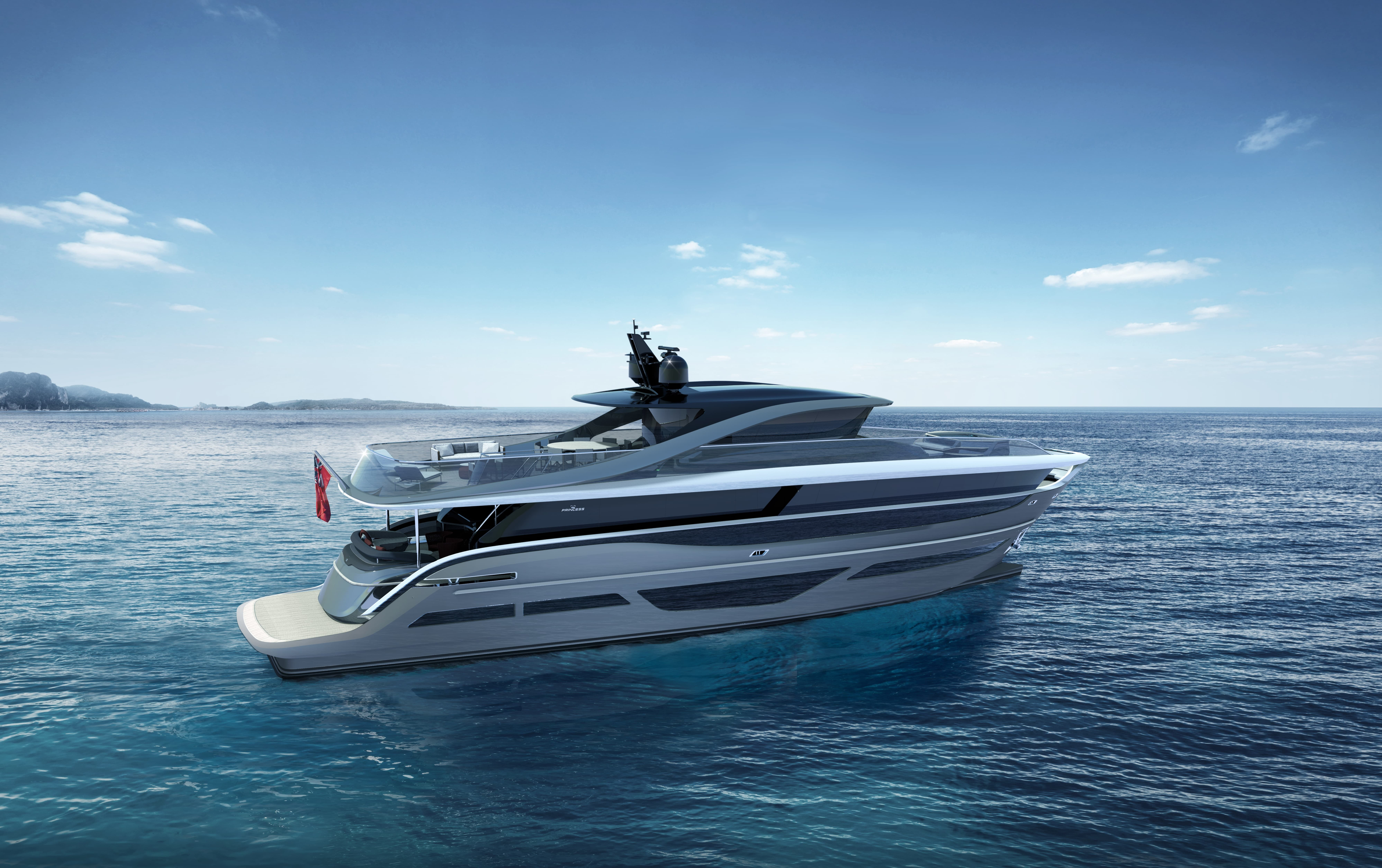 New Princess X95 Yacht