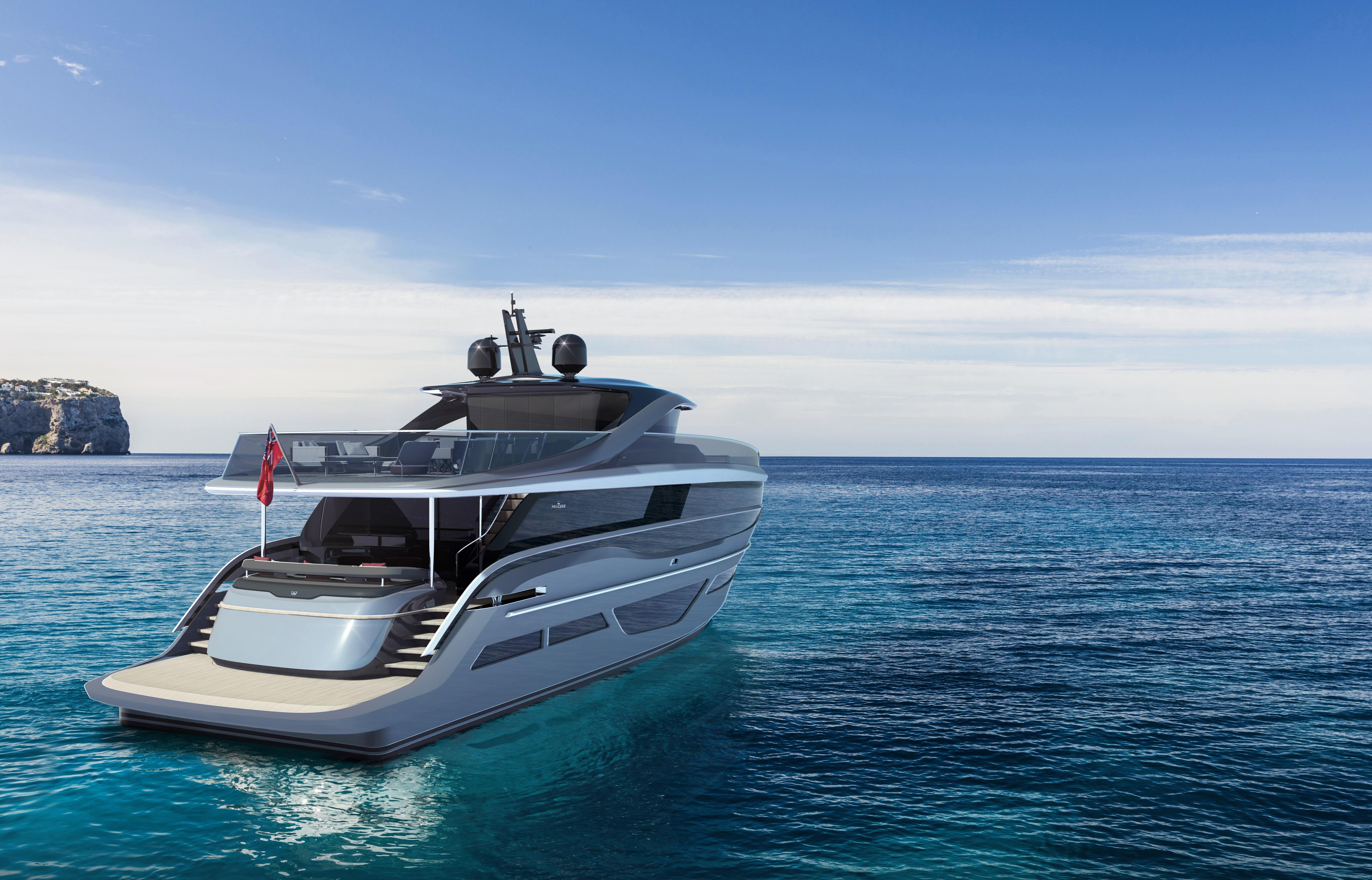 Princess Yachts X95 exterior