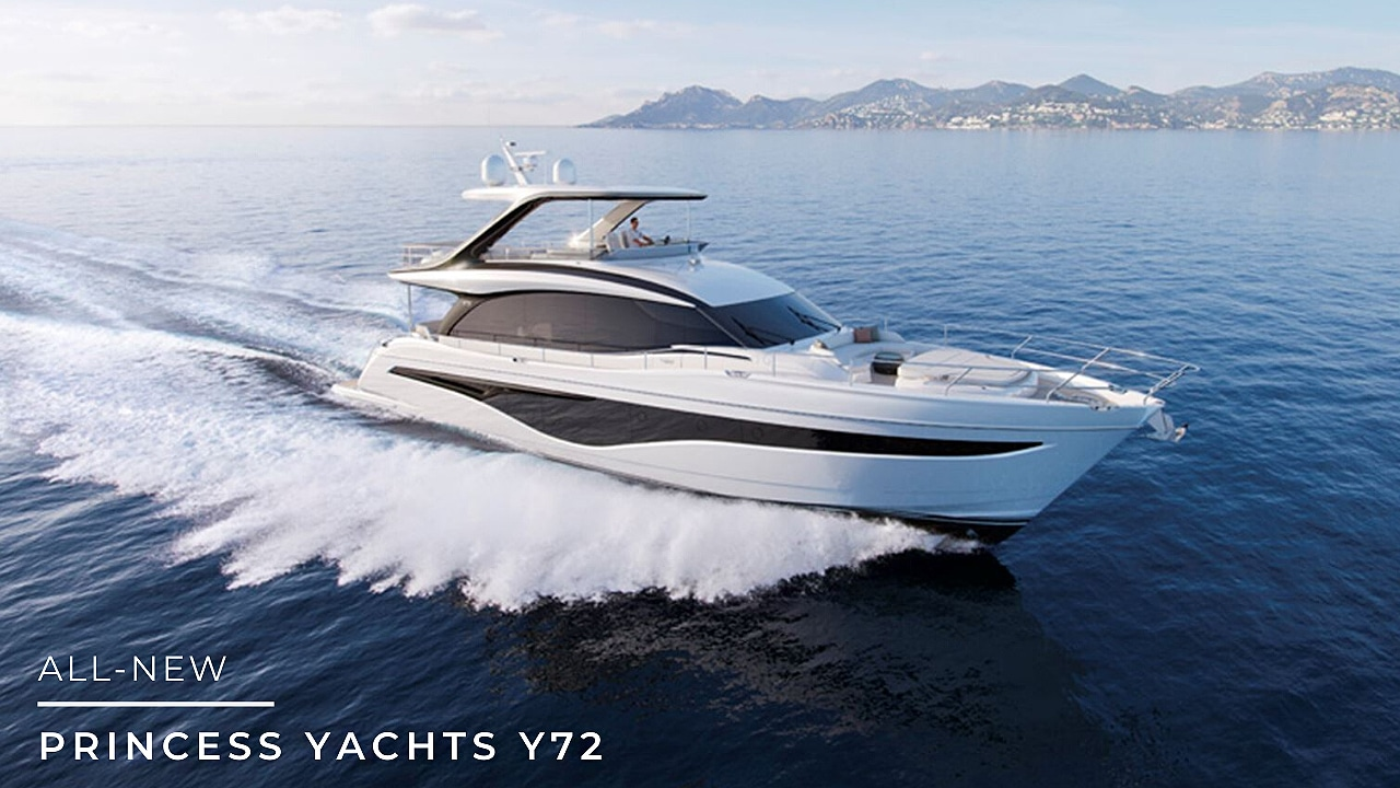 Y72 Princess Yacht