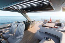 Princess Yachts Y85 Flybridge forward