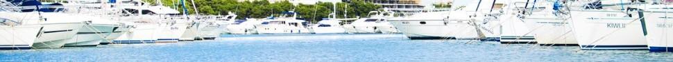 yachts at a dock